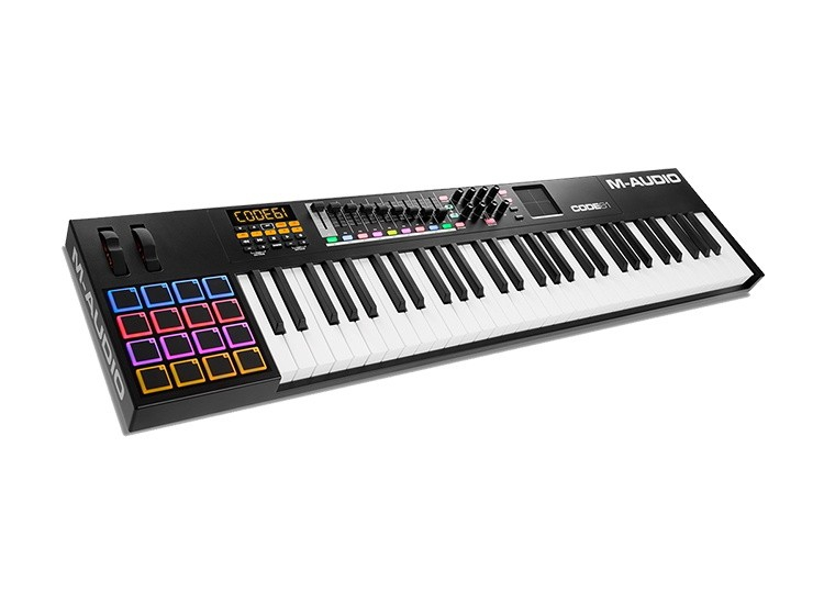CODE 61 61-key full-size MIDI keyboard