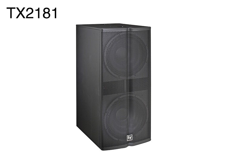 TX2181 Double 18inch woofer